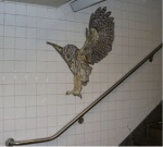 NYC subway owl