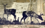 urban deer under a bridge in Trent, Trentino-Alto Adige, Italy by Niccolò Caranti, Creative Commons license