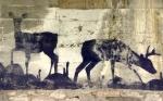 urban deer under a bridge in Trent, Trentino-Alto Adige, Italy by Niccolò Caranti, Creative Commons license