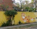 next-door nature, street creatures, graffiti, street art, wildlife, tiger, São Paulo, Brazil