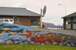 Next-Door Nature, graffiti, street art, fish, Idaho