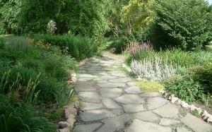 lafayette park garden path by John, CCL